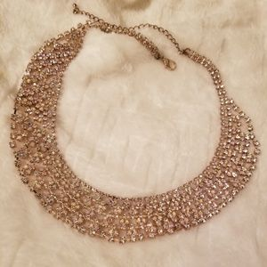 G by Guess Crystal Rose Gold Necklace